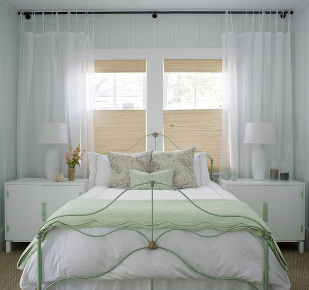 Beach Style Bedroom by Rethink Design Studio