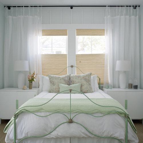 ShabbyChic Style Carpeted Bedroom Ideas Design Photos Houzz