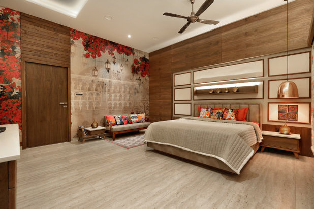 Contemporary Bedroom by Ace Associates
