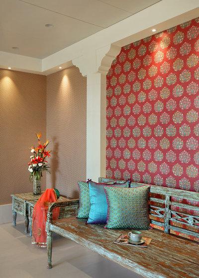 Mediterranean Bedroom by Ace Associates