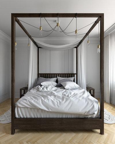 Trendy Soveværelse by Aleks.K design & visualization