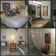 Tropical Bedroom by Dream Interior ReDesign & Real Estate Staging