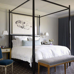 contemporary bedroom by Martha Angus Inc.
