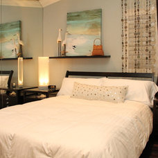Beach Style Bedroom by Robeson Design