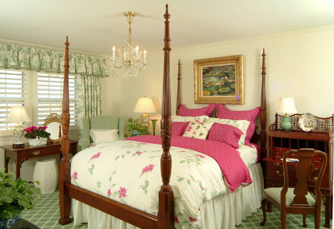 Traditional Bedroom by Becky Berg Design