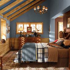 Rustic Bedroom by BEHR®