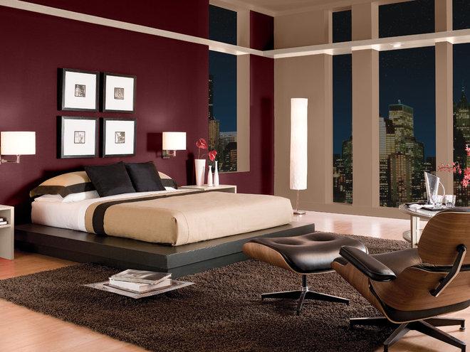Modern Bedroom by BEHR®