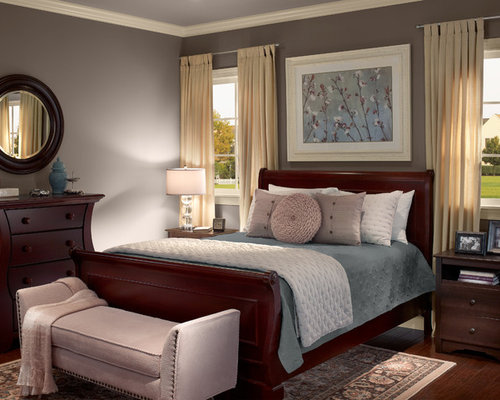 Cherry furniture houzz for Bedroom furniture orange county