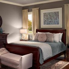 Contemporary Bedroom by BEHR®