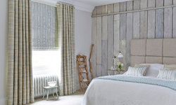 Bedroom blinds and interiors