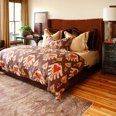 Eclectic Bedroom by Bliss Design Firm