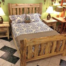 Traditional Bedroom by Boulder Furniture Arts