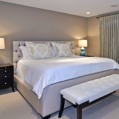 contemporary bedroom by Bruce Johnson & Associates Interior Design