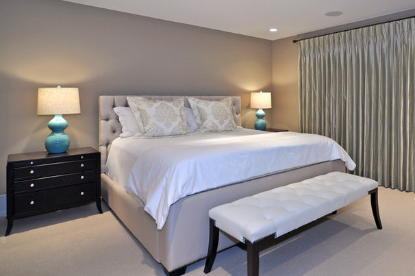 Transitional Bedroom by Bruce Johnson & Associates Interior Design