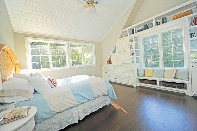 Transitional Bedroom Bedroom built-ins