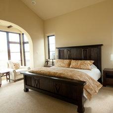 Mediterranean Bedroom by Butter Lutz Interiors, LLC