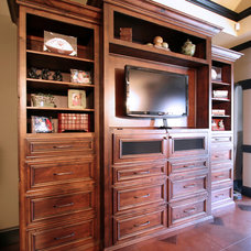 Traditional Bedroom by Walker Woodworking