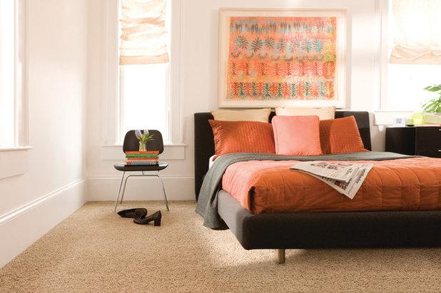 Moqueta en el dormitorio tres expertos desmontan falsos mitos - Como poner moqueta ...