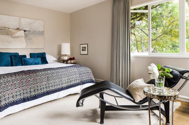 Contemporary Bedroom by Cheryl Burke Interior Design