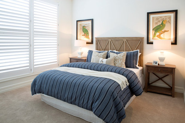 Country Bedroom by Complete Property Styling