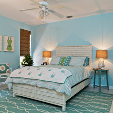 Beach Style Bedroom by Caron Kelly Interiors