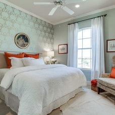 Transitional Bedroom by RN Interior Design