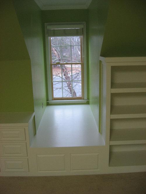 Bedroom Dormer Built Ins