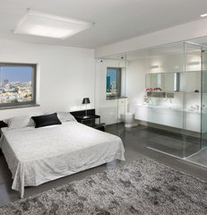 contemporary bedroom by Elad Gonen & Zeev Beech