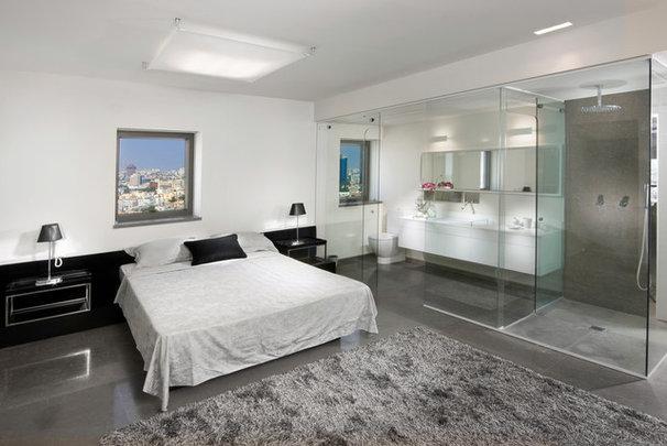 Contemporary Bedroom by Elad Gonen
