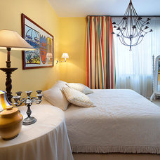 Mediterranean Bedroom by Elad Gonen