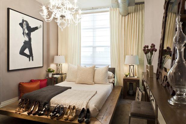 Modern Bedroom by Elizabeth Cross-Beard