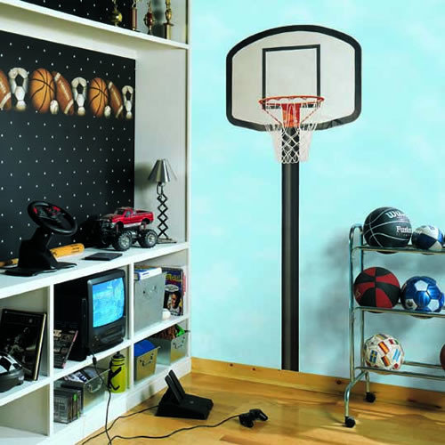 Chambre nba basketball hoop photos et id es d co de chambres - Deco basketball chambre ...