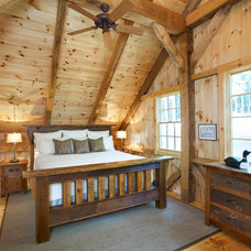 Rustic Bedroom by Fairview Builders, LLC