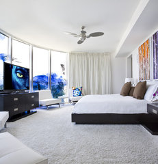 contemporary bedroom by FAVA DESIGN GROUP