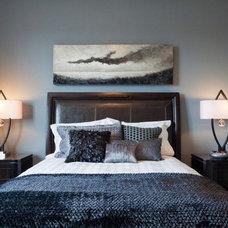 Contemporary Bedroom by Fenwick & Company Interior Design