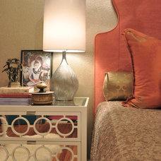 Eclectic Bedroom by GraysonHarris Interiors + Design, LLC