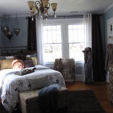 Contemporary Bedroom by Wanda S Morgan Designs