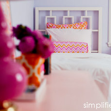 Eclectic Bedroom by Cristin Priest {Simplified Bee}