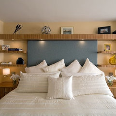 contemporary bedroom by Nirmada Interior Architectural Design