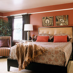 bedroom by Garrison Hullinger Interior Design Inc.