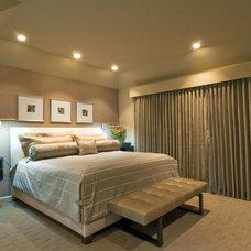 Contemporary Bedroom by Gavin Design