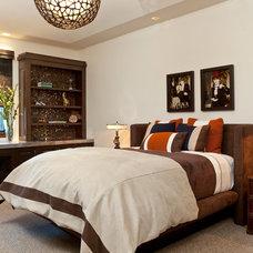 Contemporary Bedroom by Gordon Gibson Construction