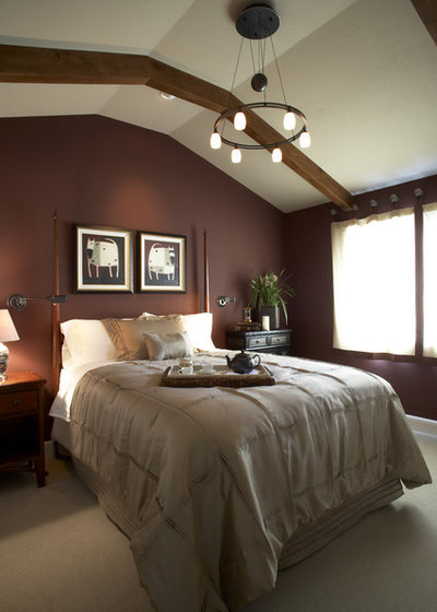 Traditional Bedroom by Harrell Remodeling  Inc. Beige to Almost Black  How to Pick the Right Brown