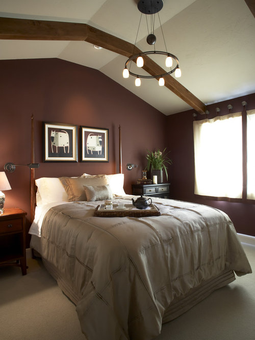 Burgundy Wall Color Houzz
