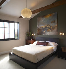 asian bedroom by Harrell Remodeling