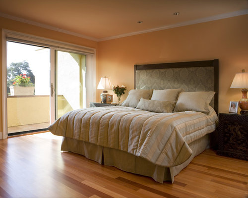 Peach Wall Color Design Ideas & Remodel Pictures