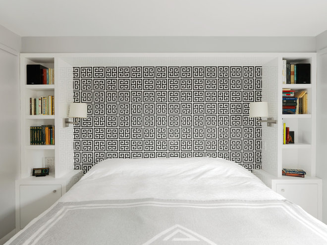 Transitional Bedroom by Hart Associates Architects, Inc.