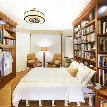 Bedroom, Home Office, Library Bedroom Mode