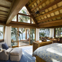 tropical bedroom by Ike Kligerman Barkley