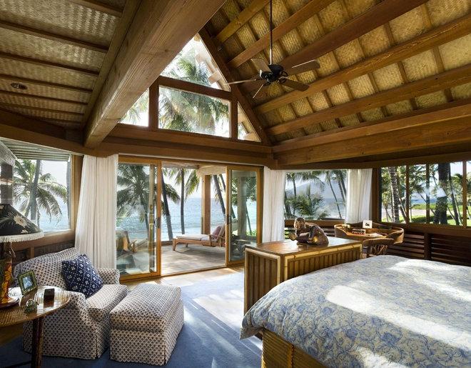 Tropical Bedroom by Ike Kligerman Barkley